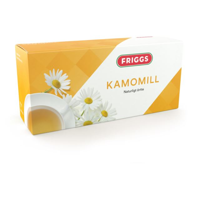 Friggs Örtte kamomill 25 st