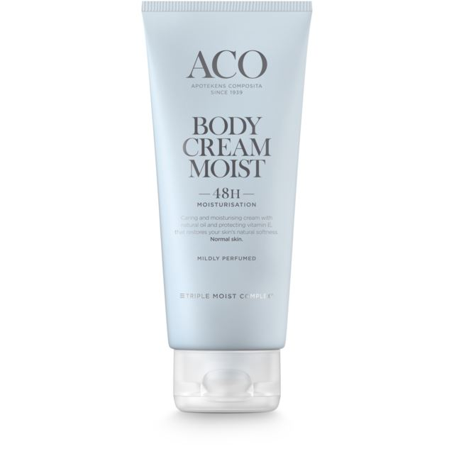 Aco Body Cream Moist Hudkräm 200 ml