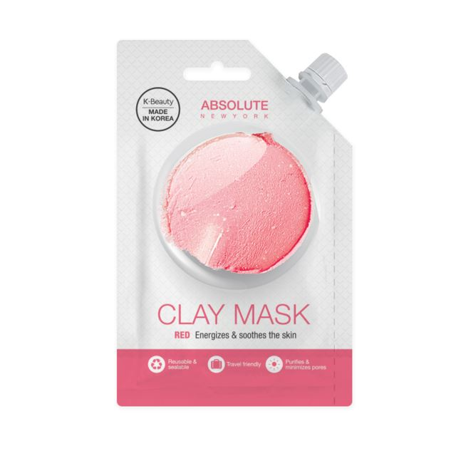 ABNY Spout Red Clay Mask 25 g